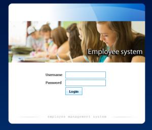 Employee Information System PHP MySql Source Code