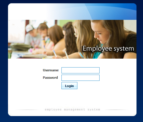 Employee Information System PHP MySql Source Code