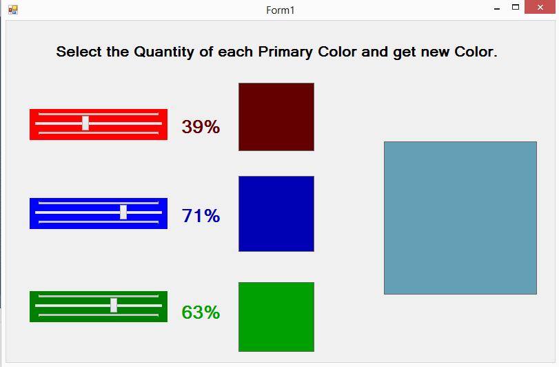 Color Picker C# Source Code