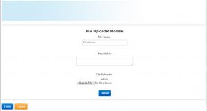 File Upload PHP MySql Source Code