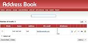 Address Book PHP MYSQL Source Code