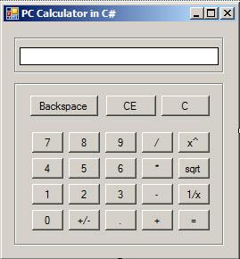 Basic Calculator C# Source Code