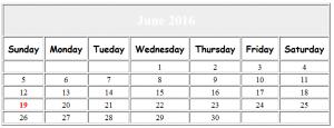 Simple Calendar Javascript Source Code