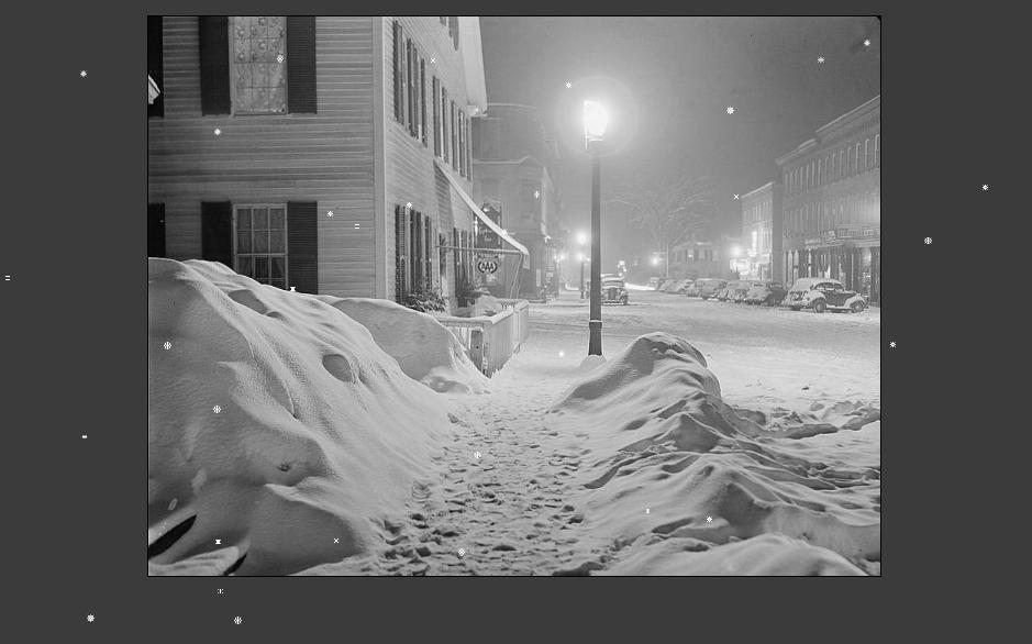 Javascript Snow Effect Source Code