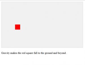 Gravity Game Javascript Source Code