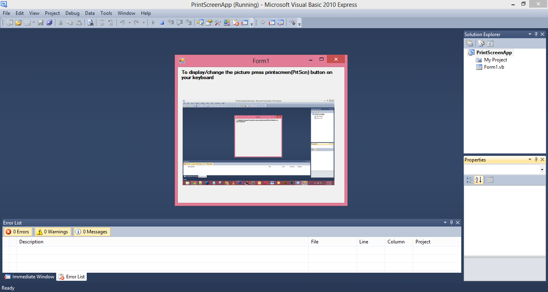 Printscreen App VB.NET Source Code