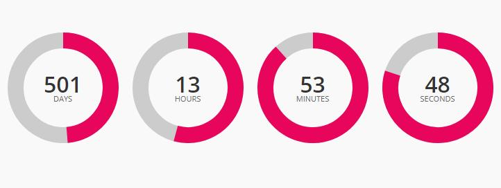 Circular Countdown jQuery Source Code