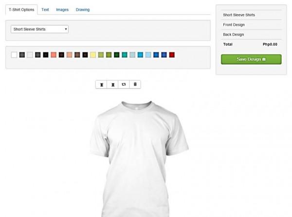 Copy Paste Prints Express Online Shirt Customization PHP Mysql Source Codes
