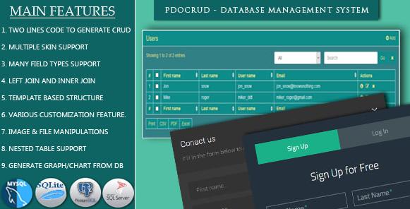 PDO Crud PHP MySQL Source Code