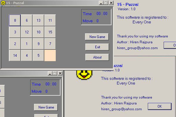 Puzzle Game Visual Basic