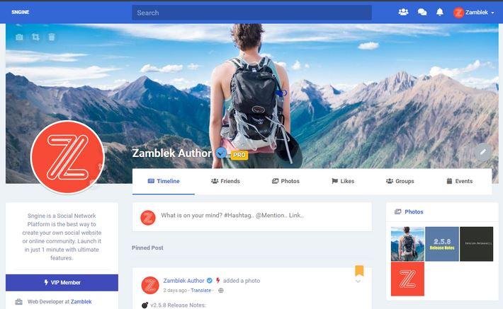 Social Network Platform PHP Source Code