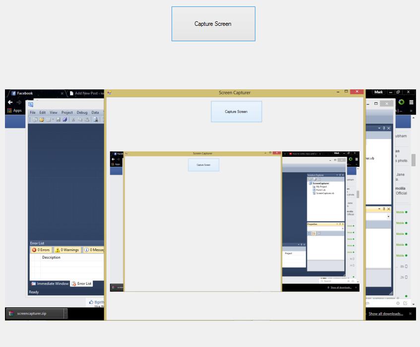 Screen Capture Visual Basic .NET Source Code